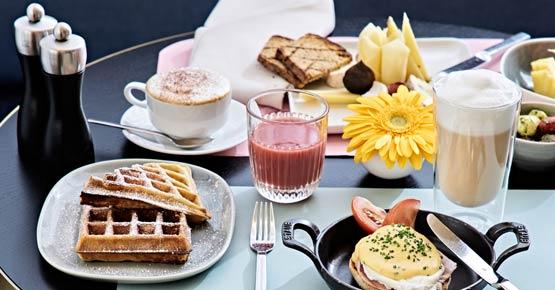 Unser reichhaltiges Frühstück lässt keine Wünsche offen