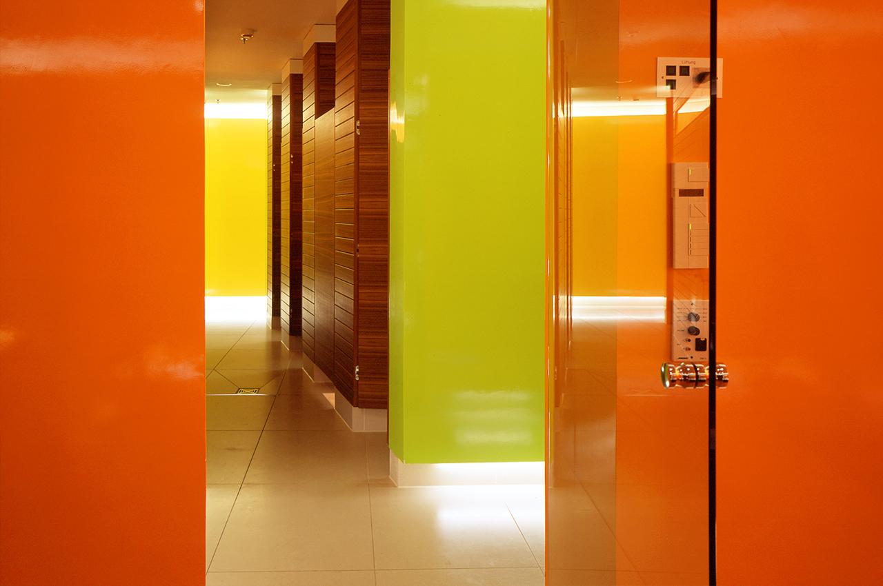 SIDE Hotel – SPA Umkleidebereich