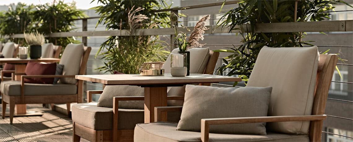 Hotel Tagung Sky Lounge und Dachterrasse