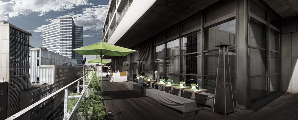 Hotel Tagung Veranstaltung Dachterrasse