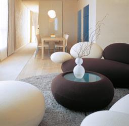 Hotel Zimmer Suite Sitzecke